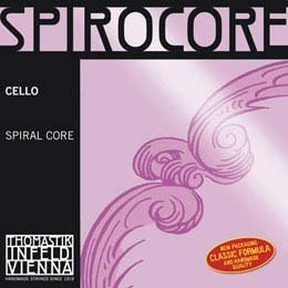 Thomastik-Infeld Spirocore 4/4 Cello C String - Chromesteel/Steel - Medium Gauge